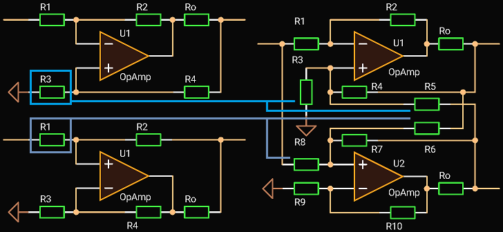 Balanced Driver with Single-Ended Input, Idea