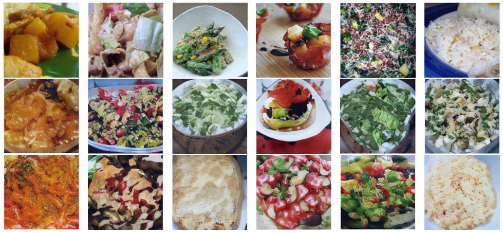 Нейросеть генерирует изображения блюд по рецептам их приготовления