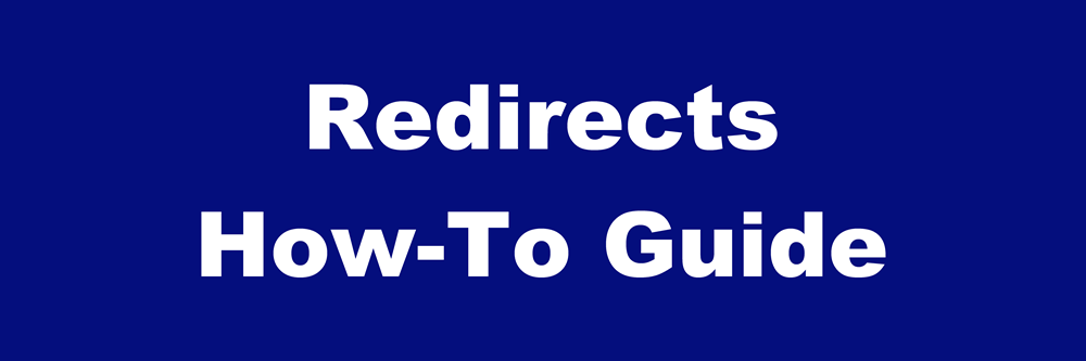 how to do a 301 redirect