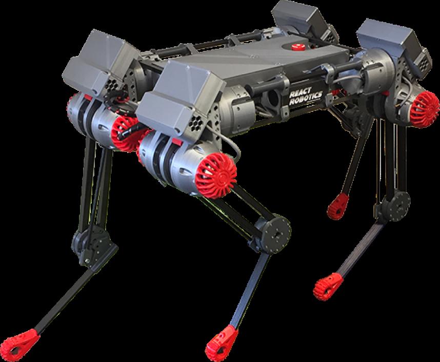 Роботы DogBot компании React Robotics готовят революцию в строительной отрасли