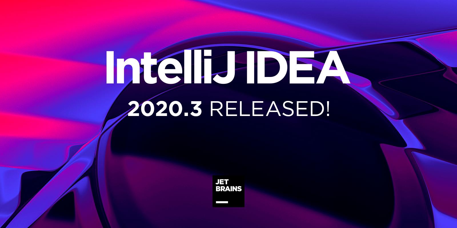 IntelliJ IDEA 2020.3