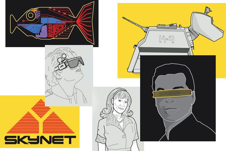 [Перевод] [Инфографика] Как искусственный интеллект показан в научной фантастике
