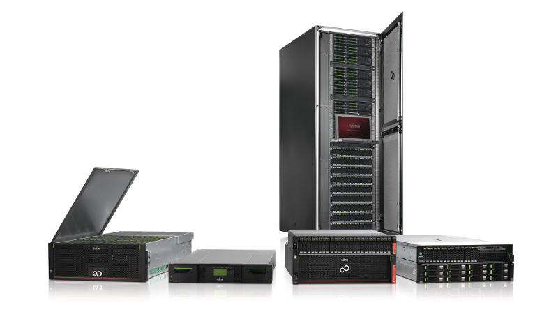 Updating the range of storage systems Fujitsu ETERNUS