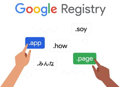 The Google Registry Domain Name Registrar and the new gTLD
