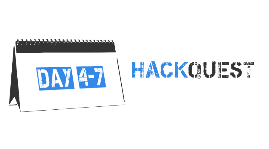 Hackquest 2018. Results & Writeups. Day 4-7