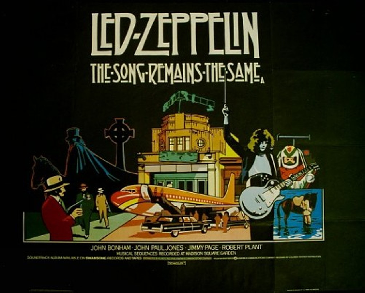Led Zeppelin →The Song Remains The Same