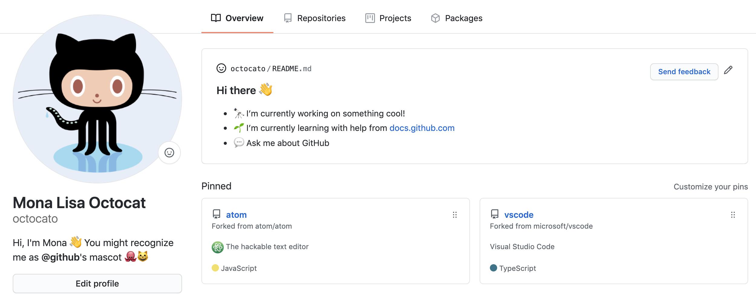 Recovery mode Кастомизация профиля GitHub Readme