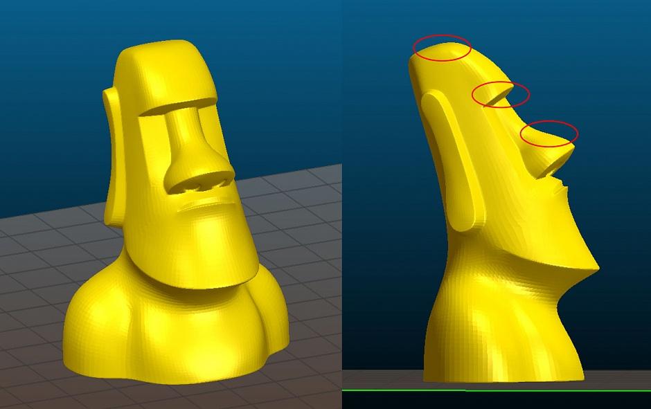 [recovery mode] Уроки 3D печати. Экономия пластика при печати не функциональных моделей от 3Dtool