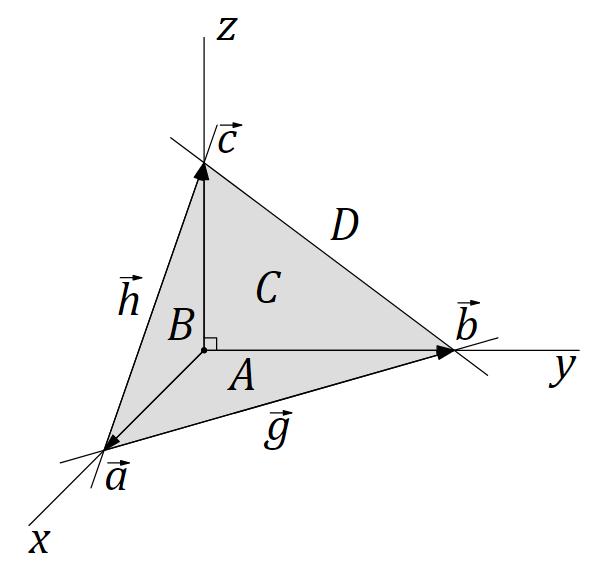Теорема Пифагора для прямоугольной пирамиды
