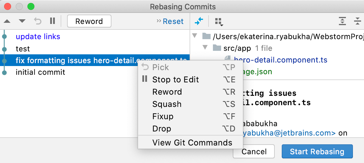 rebasing-commits