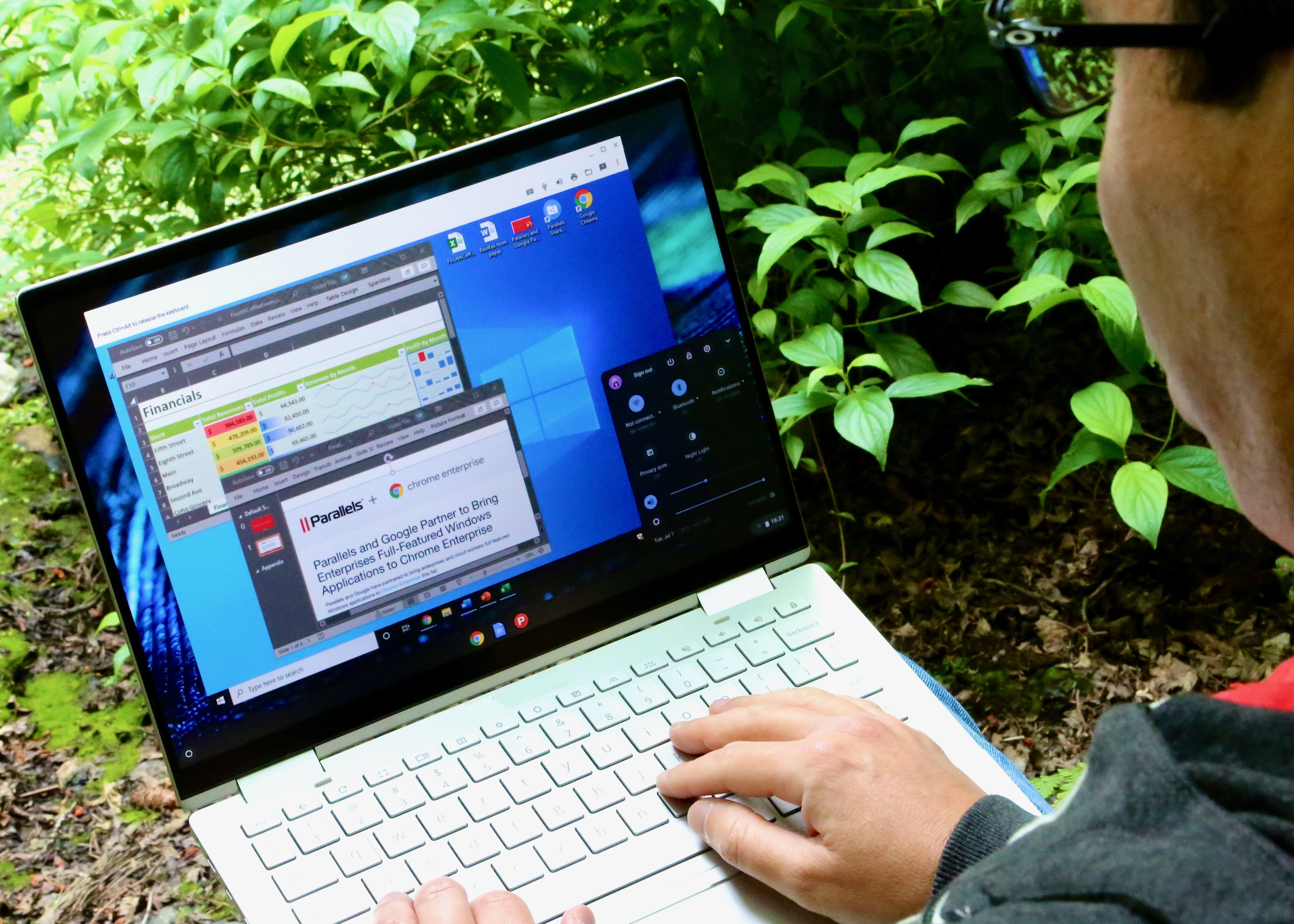 Parallels представила решение Parallels Desktop для Chromebook Enterprise