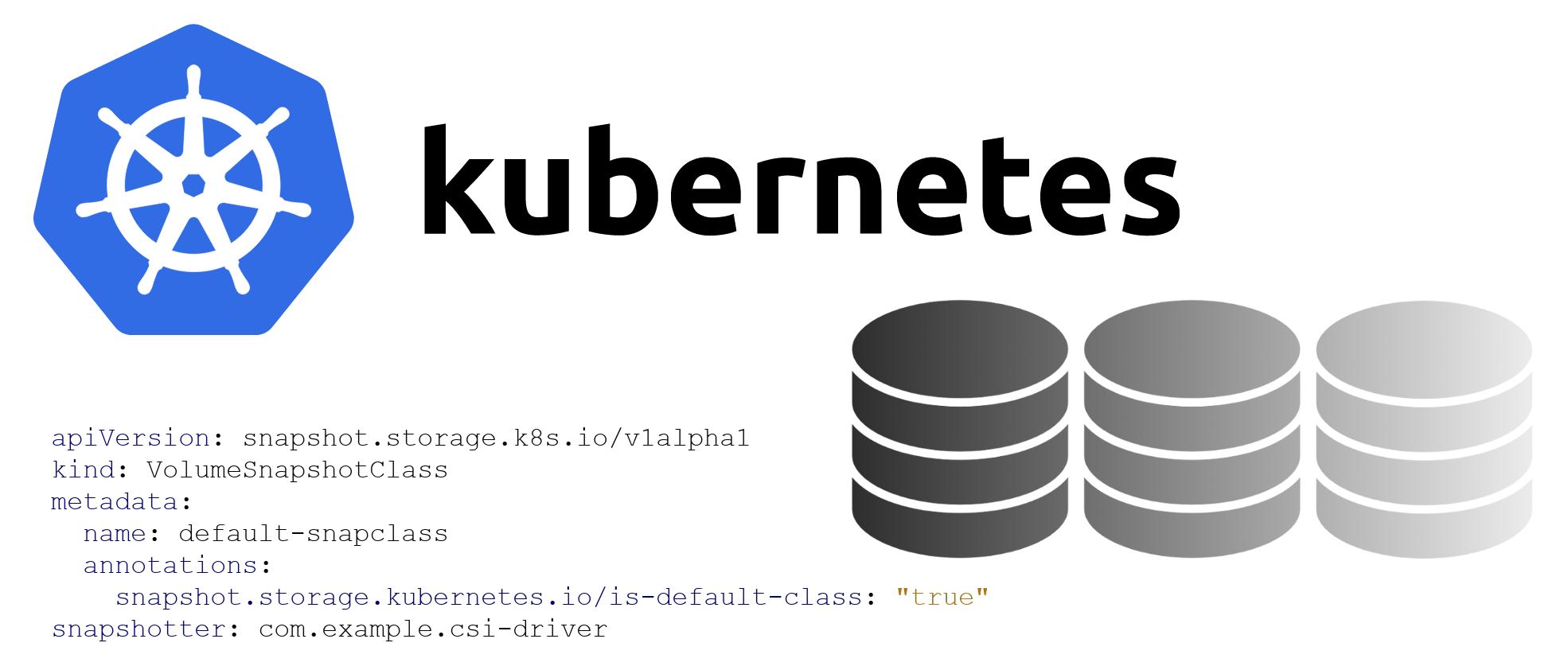 Знакомимся с альфа-версией снапшотов томов в Kubernetes