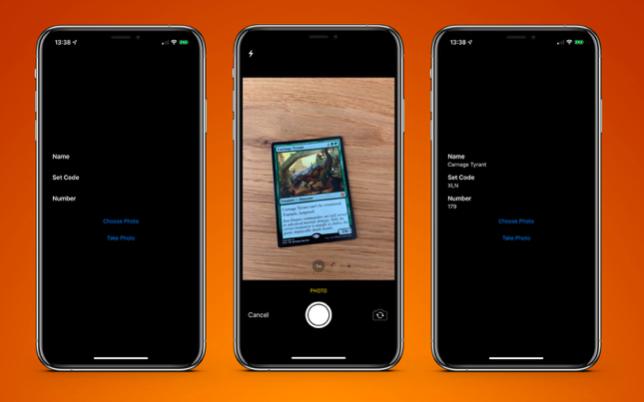 Распознавание текста с помощью VNRecognizeTextRequest в iOS 13