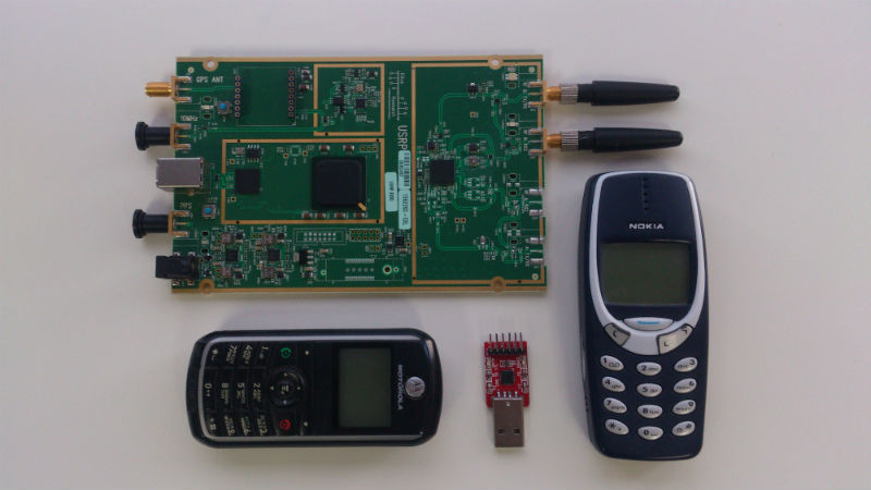 How to assemble a GSM phone based on SDR