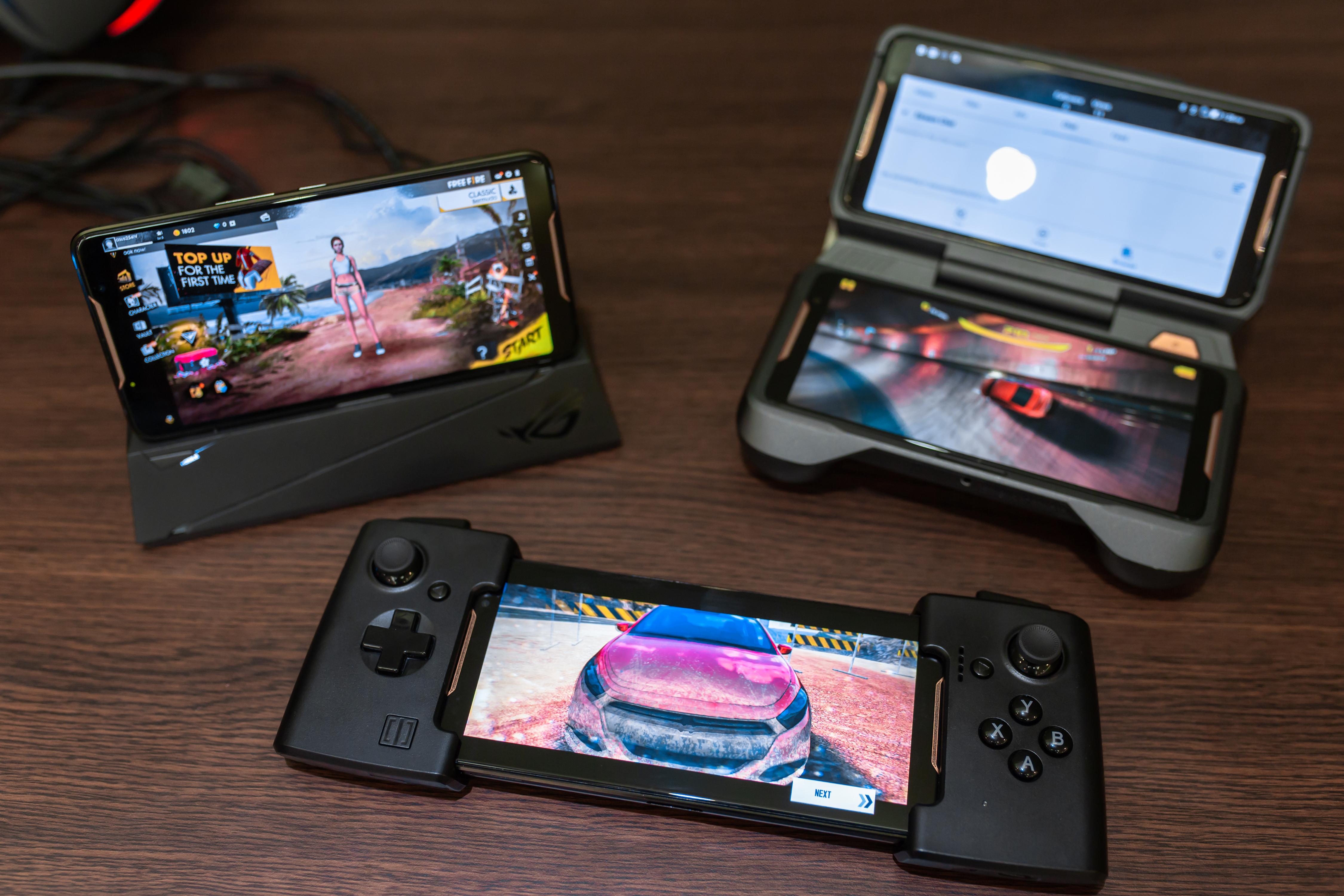 Первый взгляд на геймерский смартфон ASUS ROG Phone