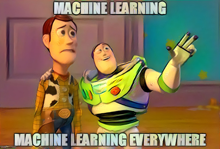 Machine Learning everywhere