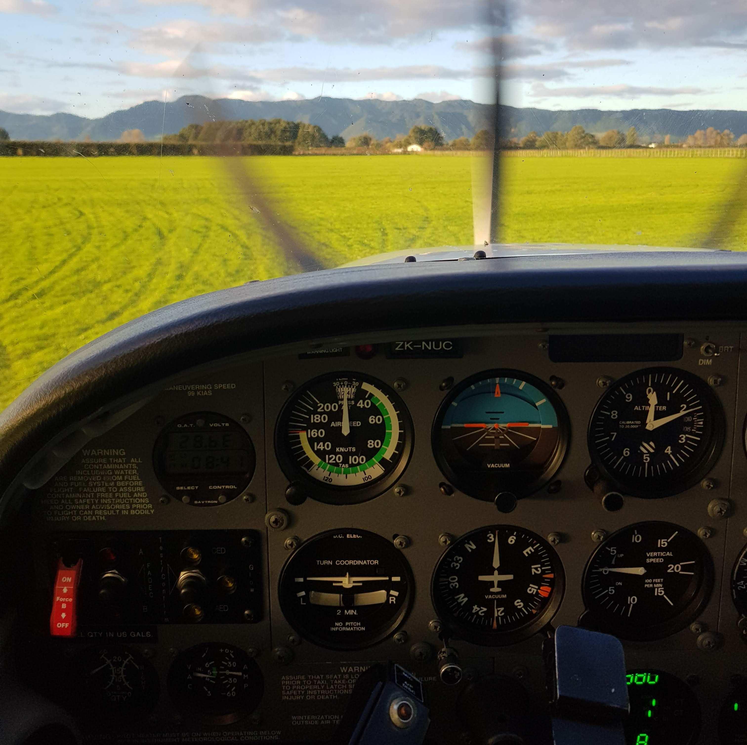 [Из песочницы] Учеба на частного пилота в Средиземье: переезд и жизнь в новозеландской деревне