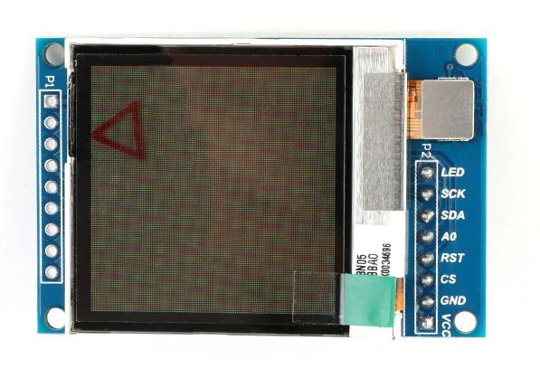 Запускаем трансфлективный TFT OLED дисплей на SSD1283A с помощью STM32