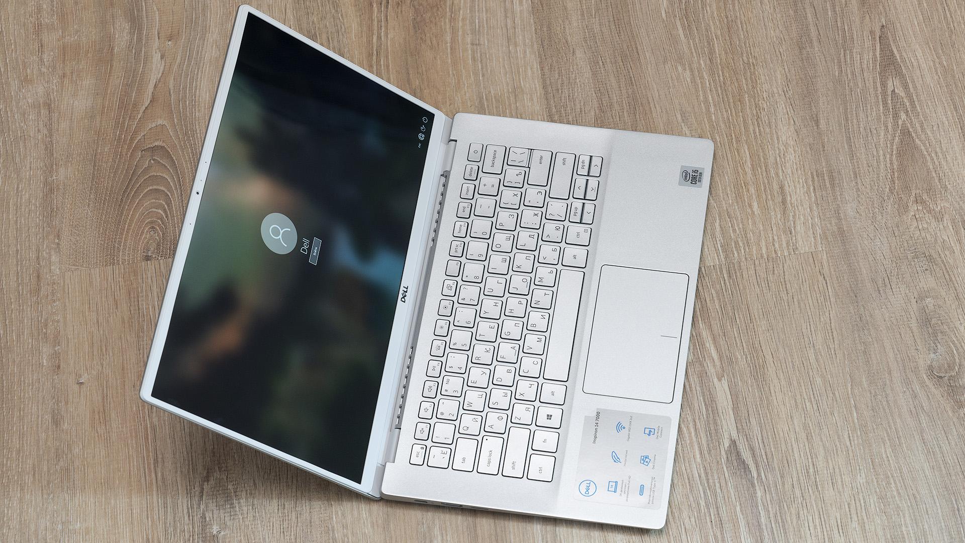 Dell Inspiron 7490: лёгкий металлический ноутбук на каждый день с отличной автономностью