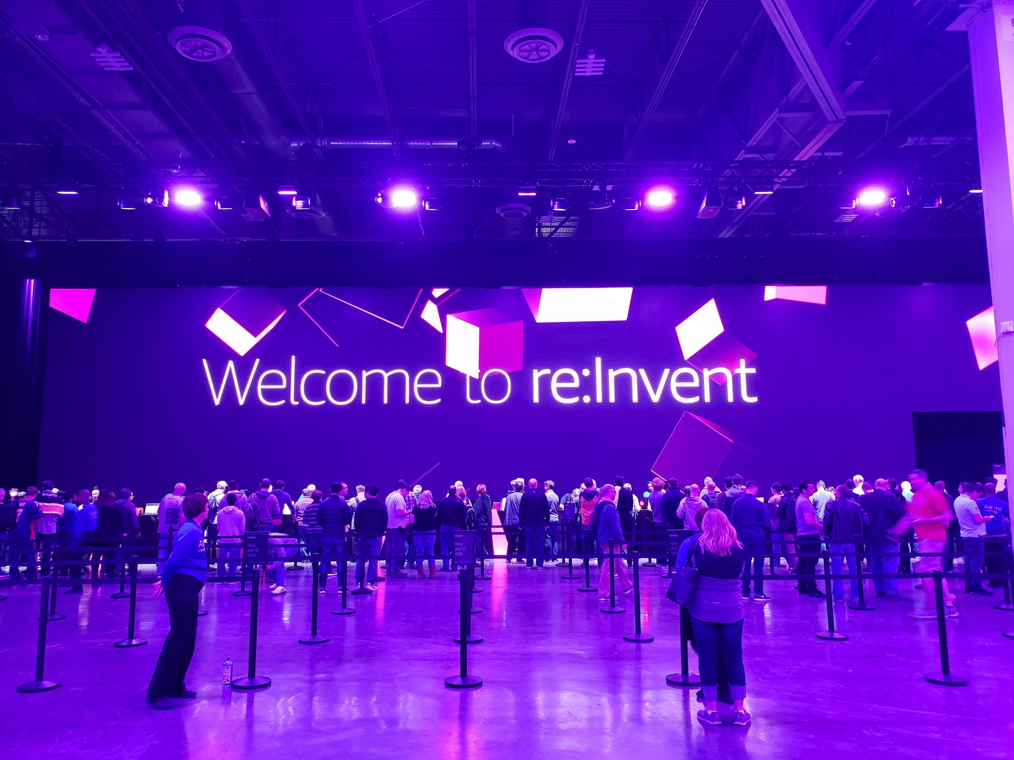 AWS re: Invent 2018 - first day impressions of