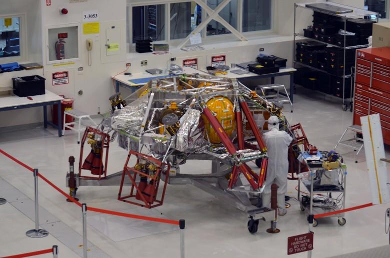 Началась сборка спускаемой ступени «Марс-2020»