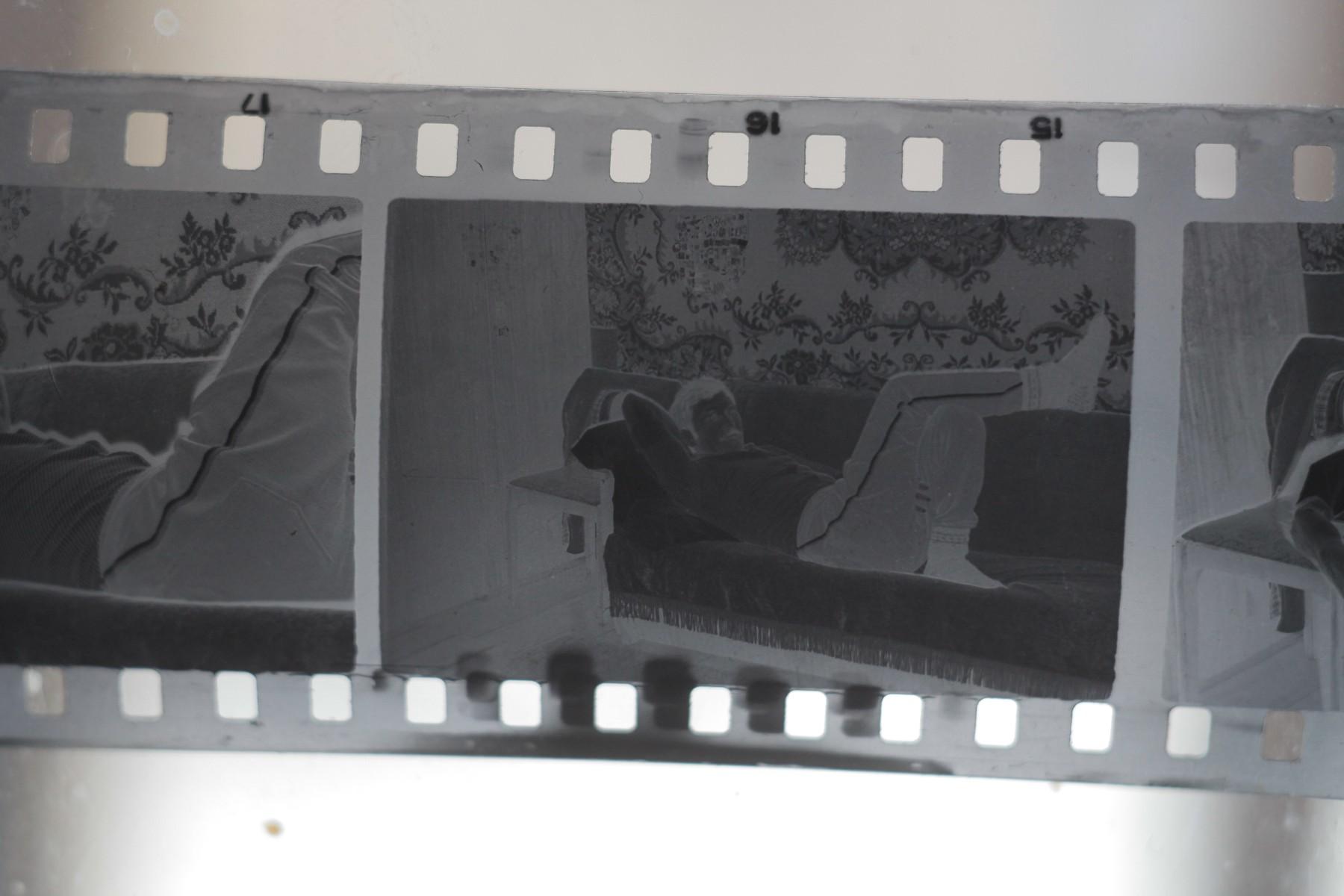 Что делается с фотопленкой после съемки