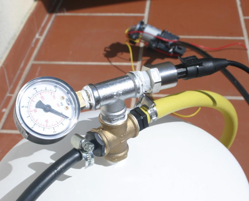Калибровка стального датчика давления