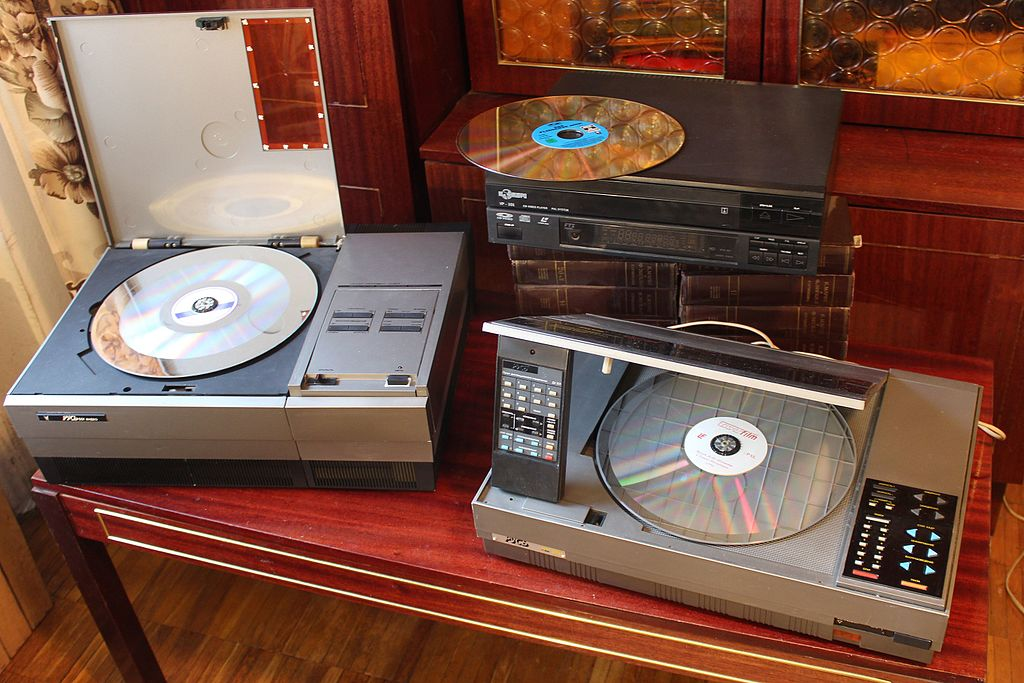 Soviet HI-FI and its creators: laser video discs in the USSR