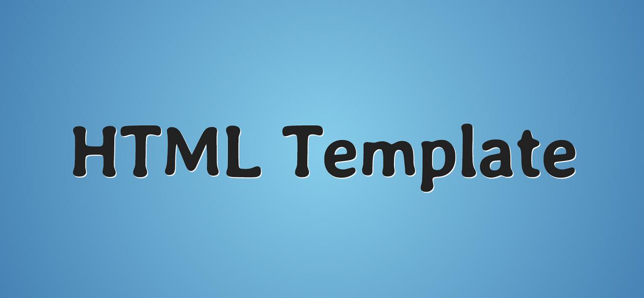 Современный стартовый HTML-шаблон / Хабр