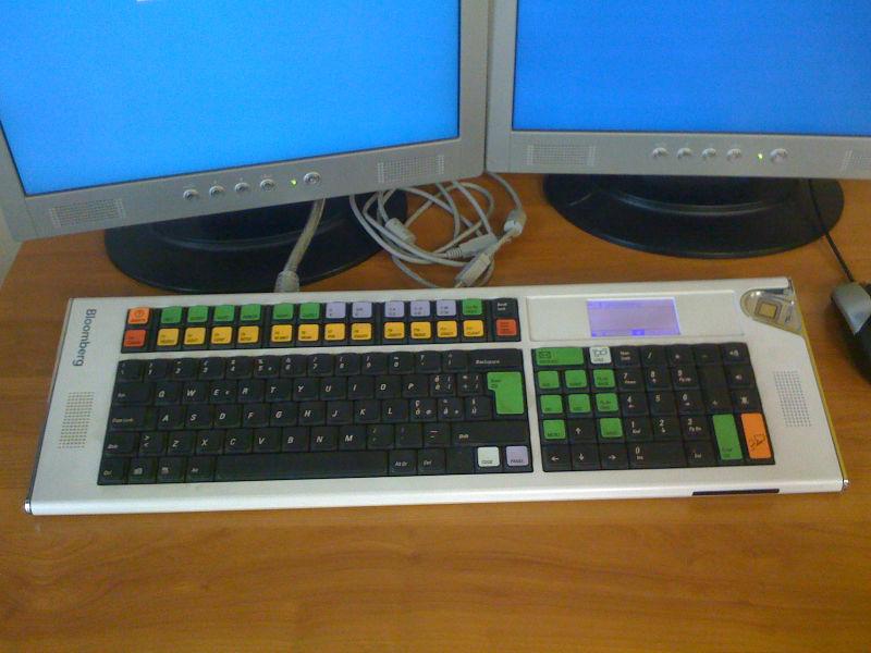 Как менялась самая популярная программируемая клавиатура для трейдинга: история Bloomberg keyboard