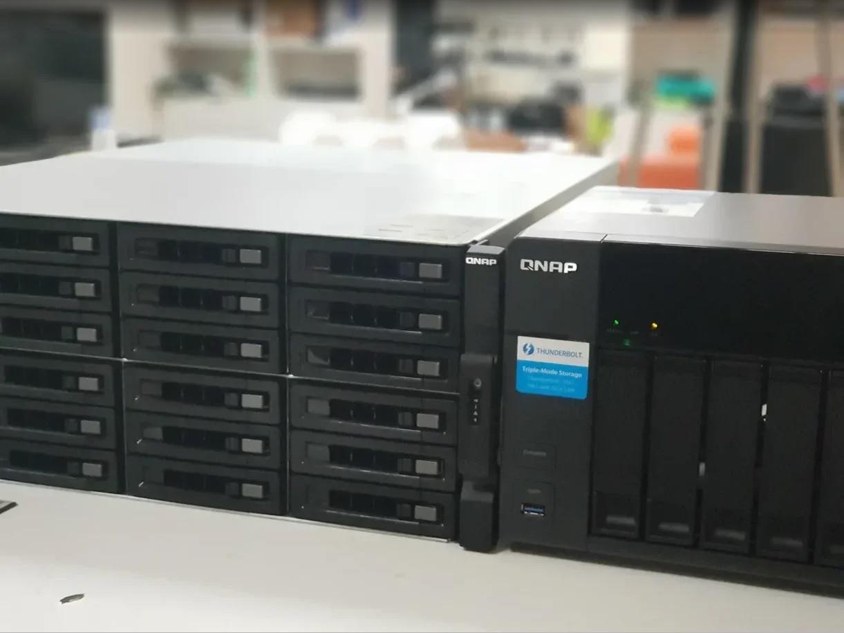 СХД QNAP для агрегации данных в объектовой видеоаналитике