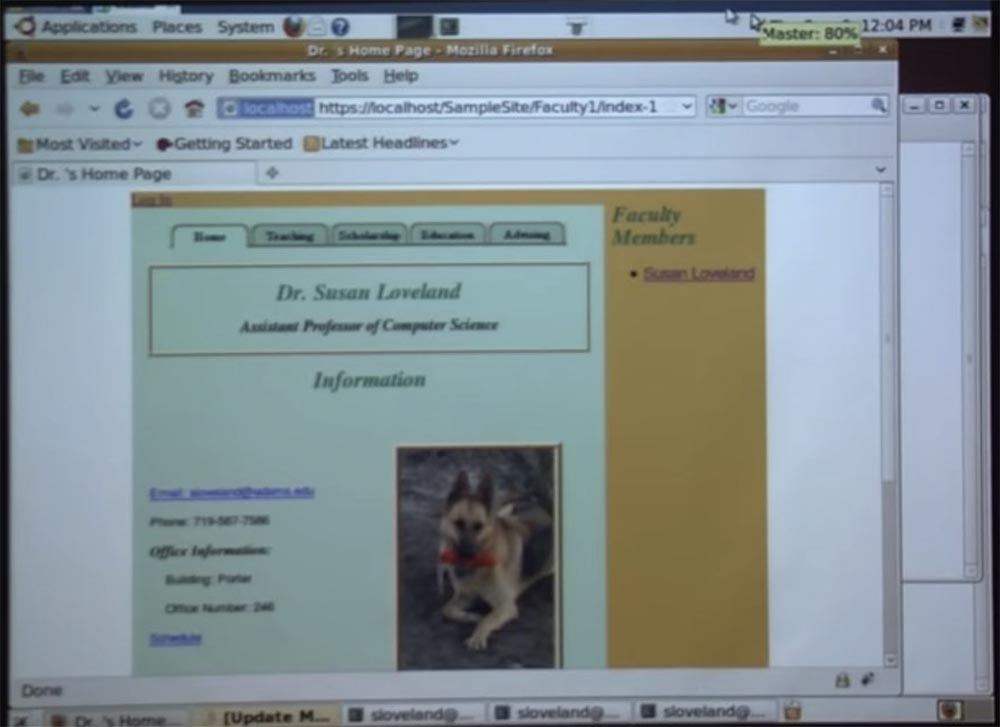 Adams State University  How to hack websites  Part 1