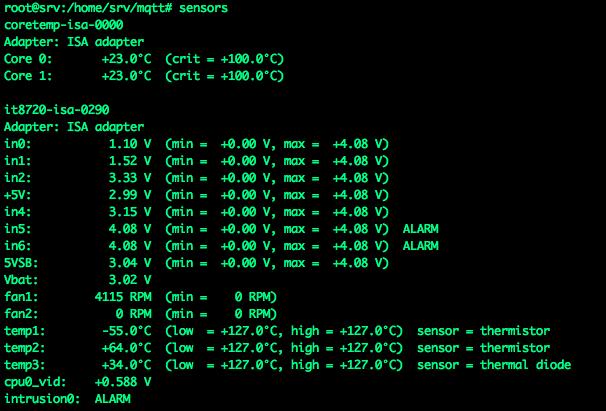 Мониторинг показателей linux сервера в Home Assistant через mqtt / Хабр