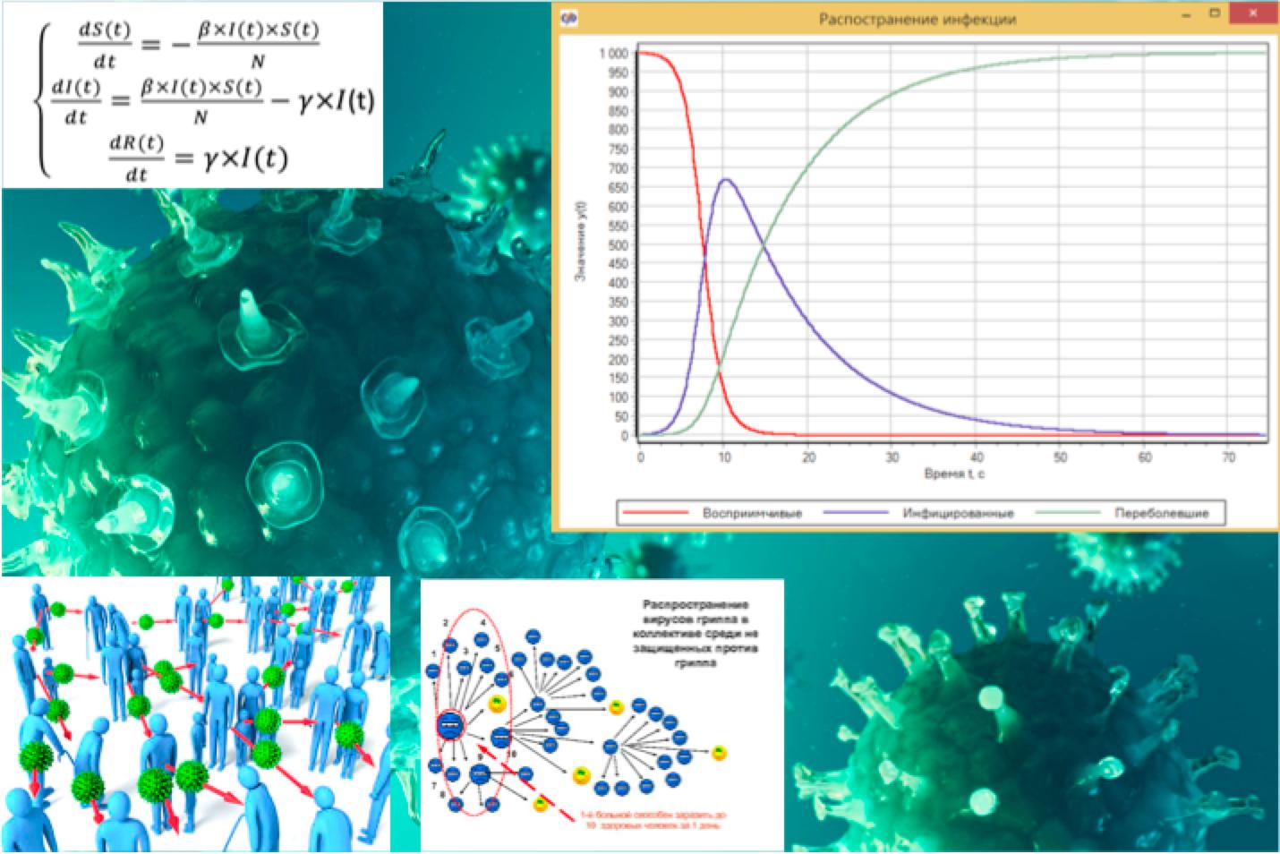 Ударим ТАУ по пандемии COVID-19. Численное моделирования распространения инфекции