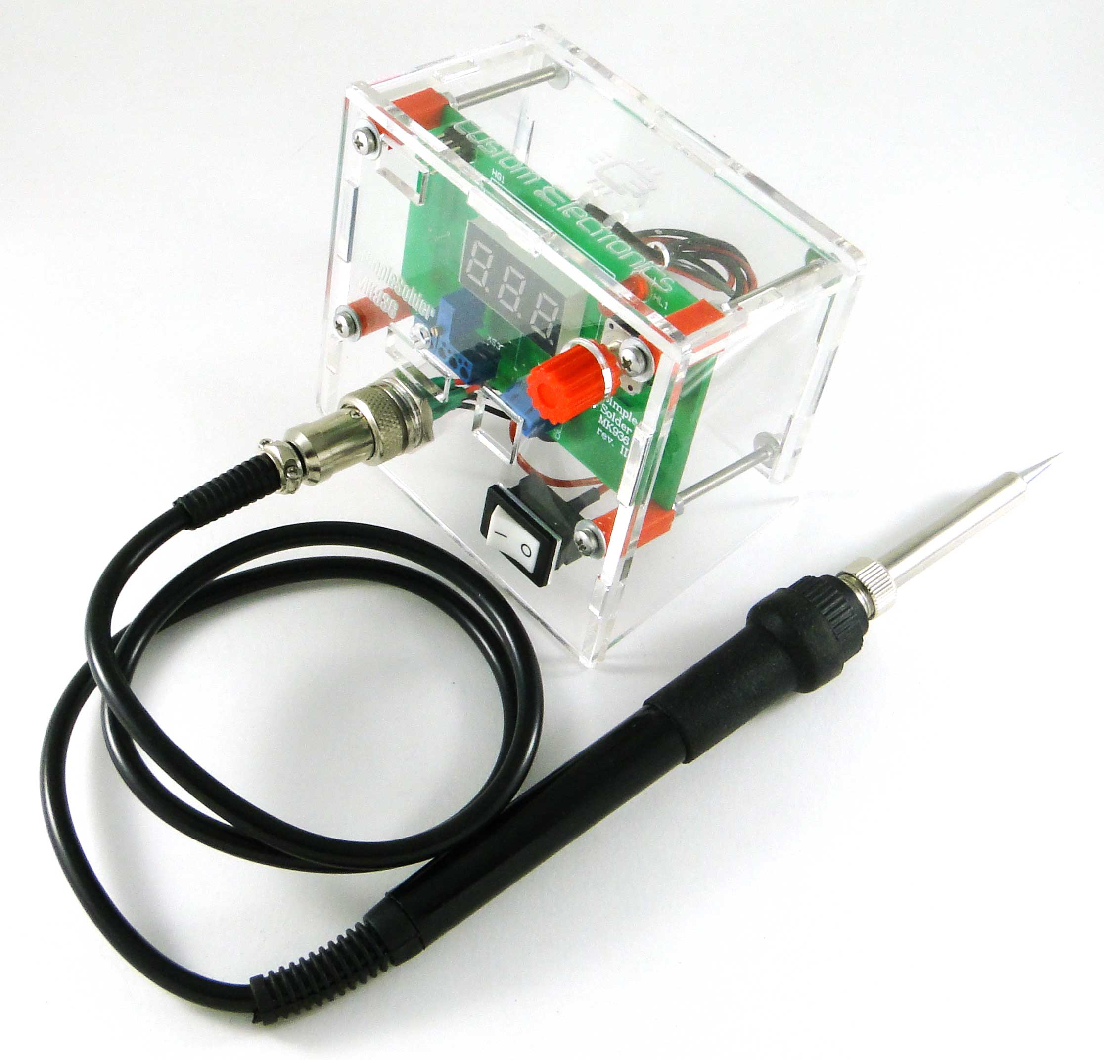 Simple Solder MK936 SMD. Soldering station on SMD-components with their own hands