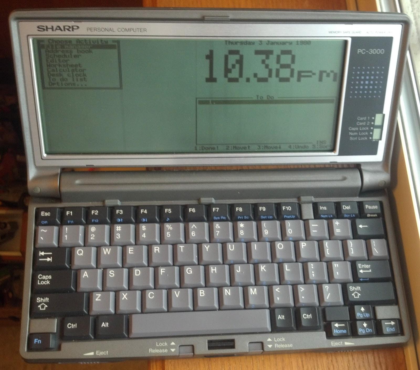 [Из песочницы] Моя первая читалка на основе Sharp PC3000