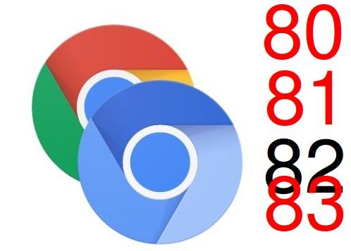 Google полностью пропустит выпуск Chrome версии 82 — после релиза Chrome 81 будет Chrome 83