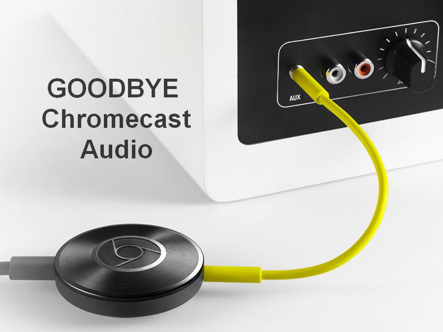 Некролог на смерть Chromecast Audio: Google убил черные диски