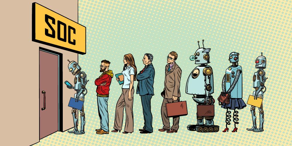 ИИ в собственном SOC'у: мечтают ли руководители центров мониторинга кибератак об электроаналитиках