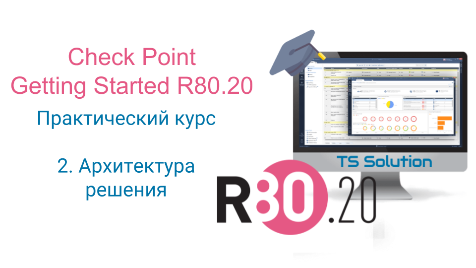 2. Check Point Getting Started R80.20. Архитектура решения