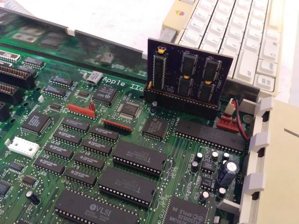 Плата расширения ОЗУ для Apple IIgs
