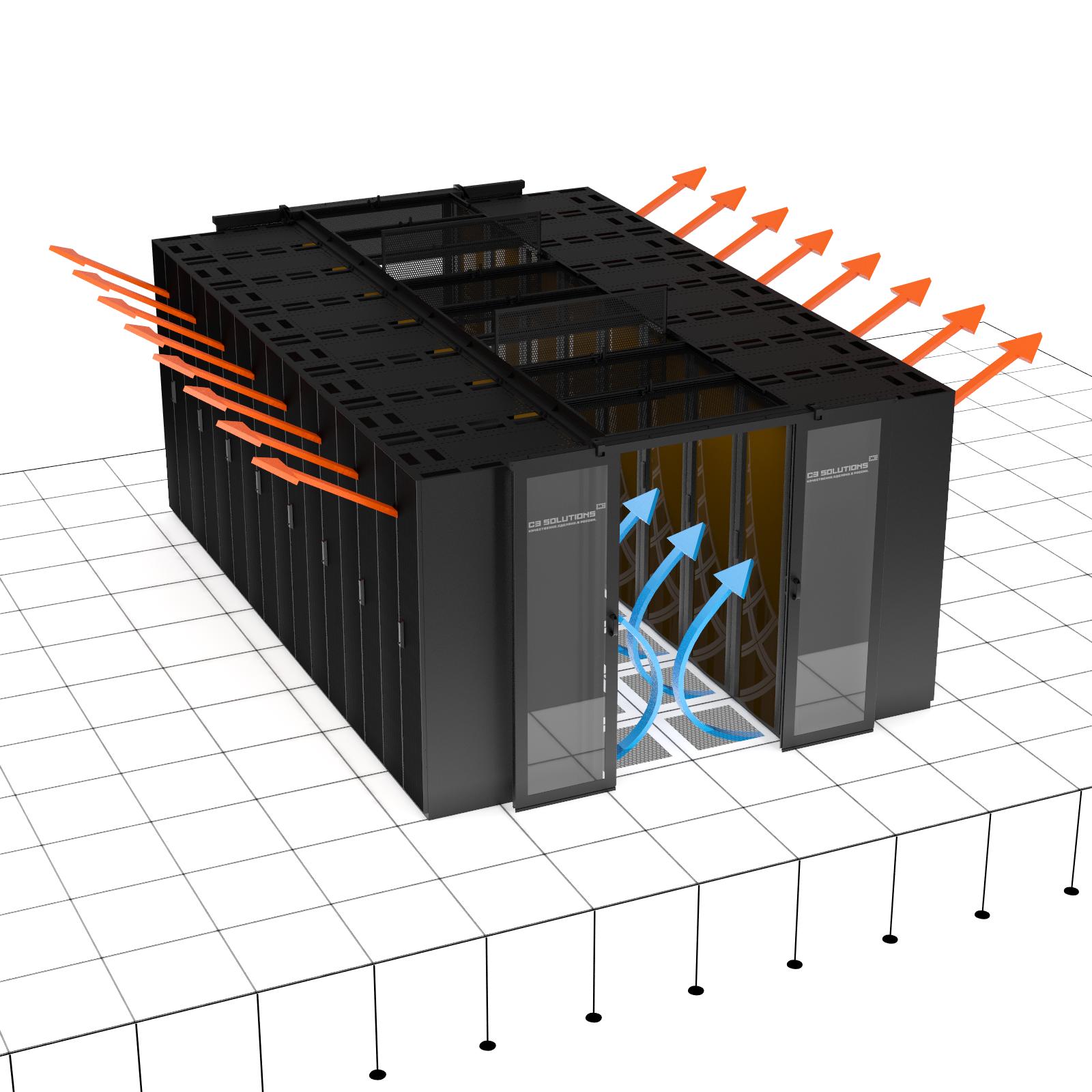 Системы изоляции воздушных коридоров ЦОД. Часть 2. Холодные и горячие коридоры. Какой изолируем?