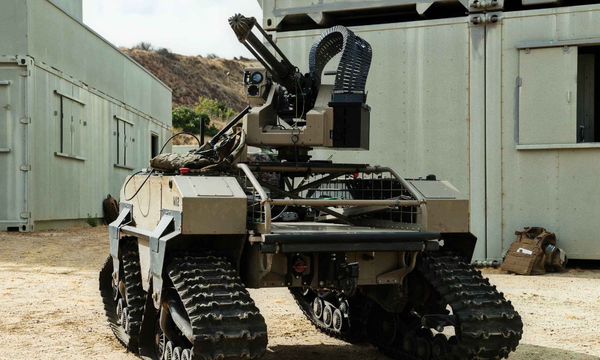 [recovery mode] Военные роботы и их разработчики. Часть 1