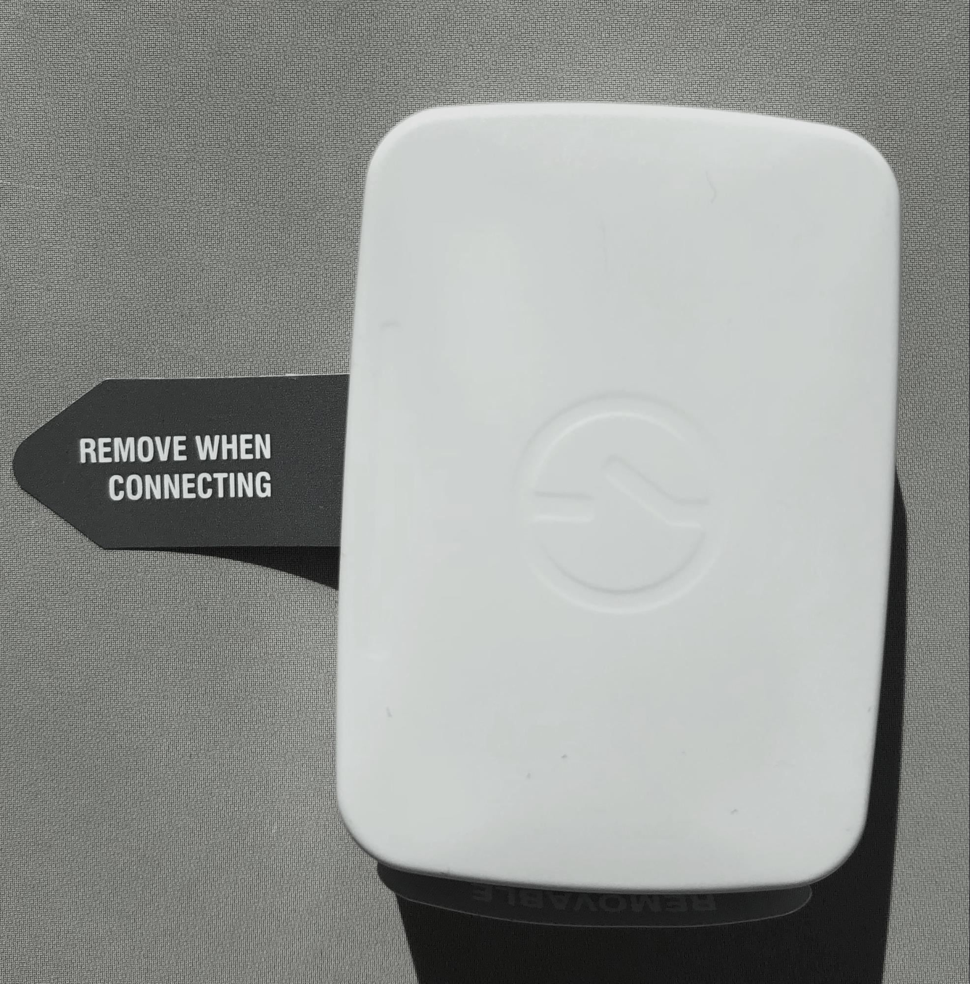 стикер на батарейном отсеке