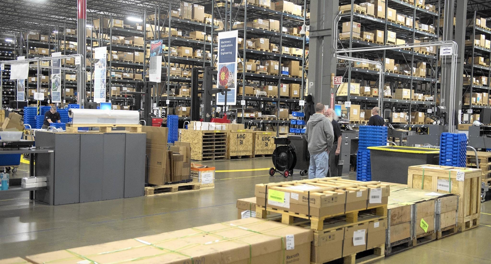 [recovery mode] Автоматизация склада в Bosch Rexroth: ПО, железо, интеграция