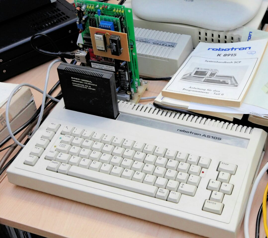 Robotron BIC A5105 is an unknown person of the GDR