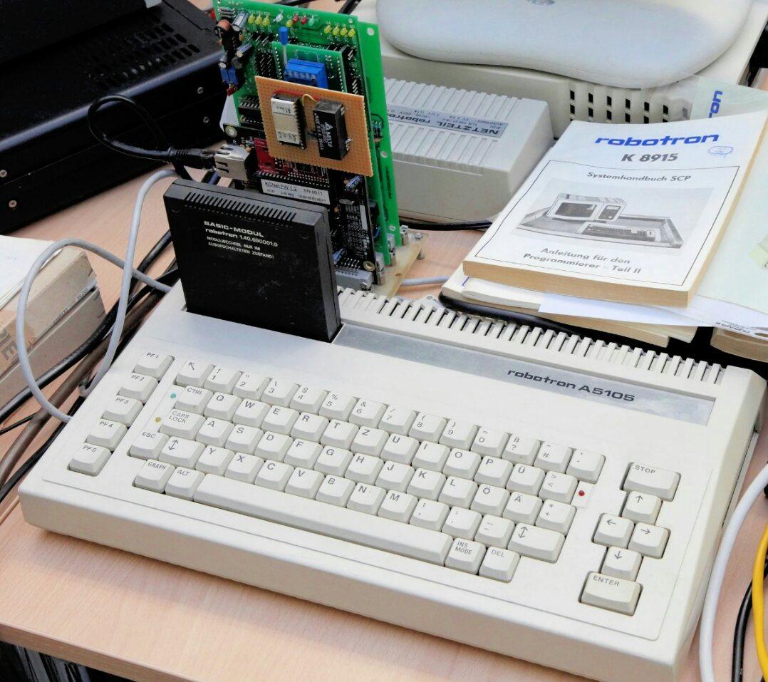 Robotron BIC A5105 — неизвестная персоналка ГДР