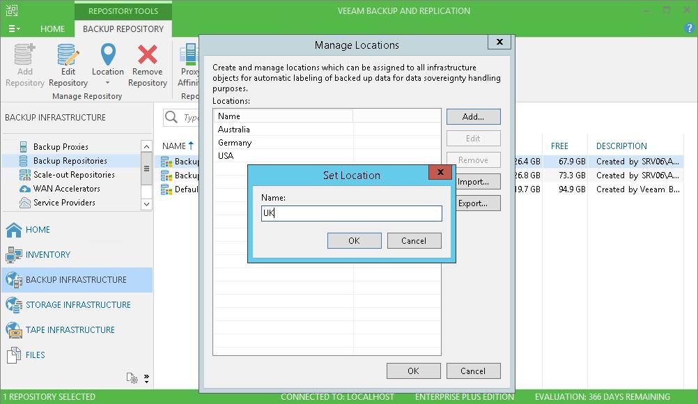 Новое к Новому Году: обзор Veeam Backup & Replication 9.5 Update 3