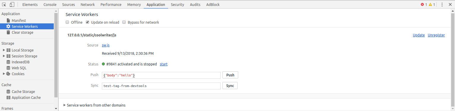 Configure Web Push Notifications using pywebpush step by step