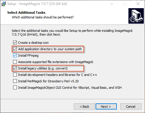 Batch processing of images in Windows with ImageMagick. Part I